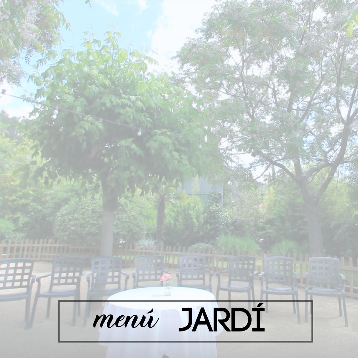 menu jardi lera restaurant ocasions especials